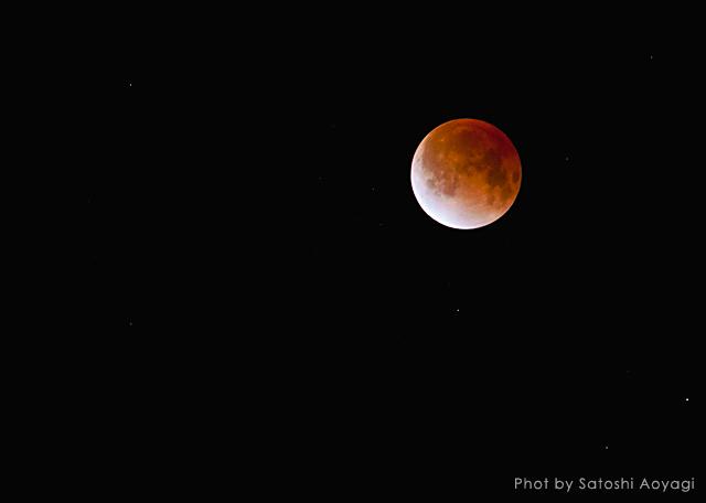 moon 皆既月食(350mm)