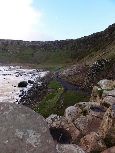 View from the Giants Causeway