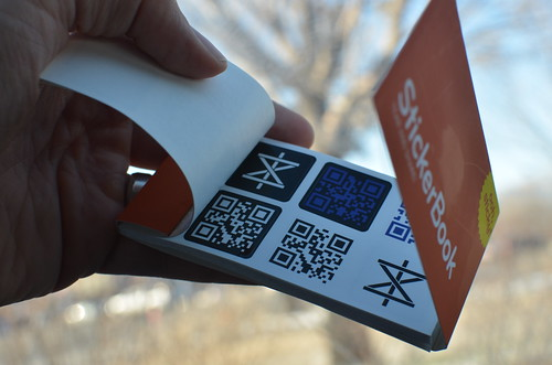 Custom QR Code Stickers