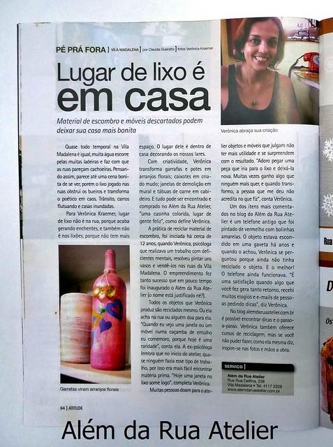Entrevista comigo para a revista Atitude São Paulo