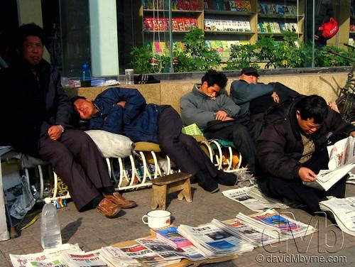 Midday Slump, Beijing