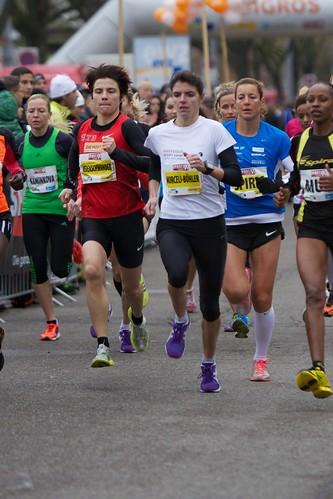 Einzelläuferinnen Elite Frauen