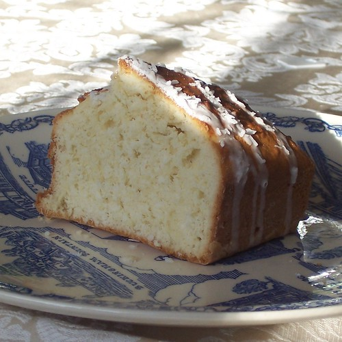 Coconut Cake (crumb)
