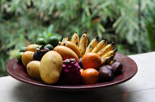 Via i moscerini dalla cesta della frutta