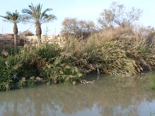 El río Jordán a su paso por Betania.