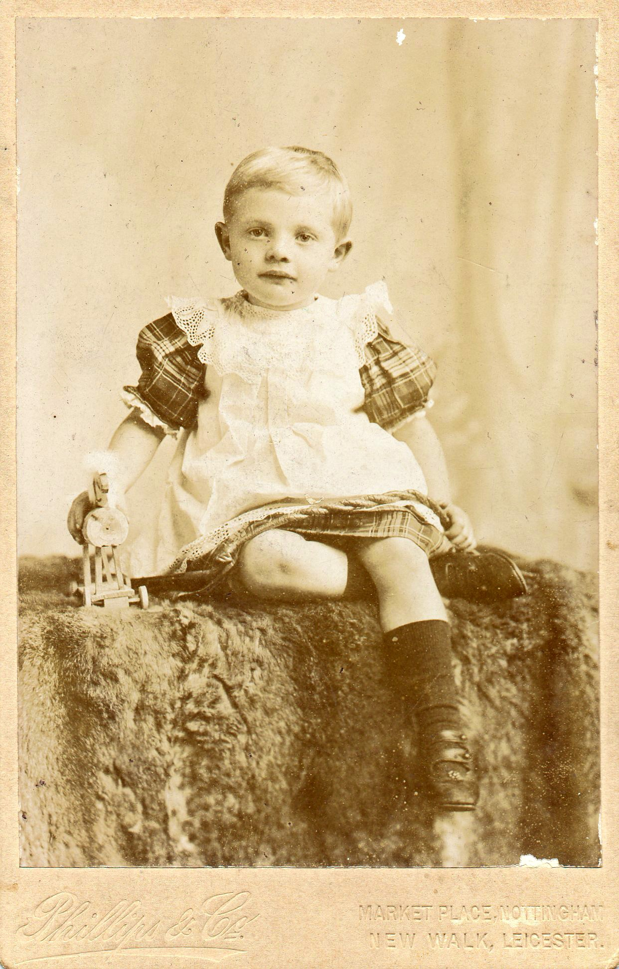 Unknown Boy UK ca. 1900