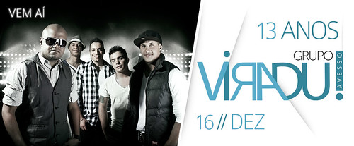 Flyer Viradu! 13 Anos by chambe.com.br