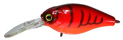 Cherry Crawfish Bass Fishing Lure