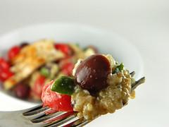 Quinoa & Chicken Greek Salad