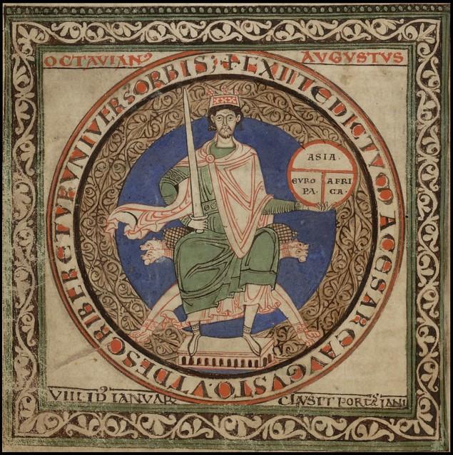 Liber Floridus - Octavian Augustus