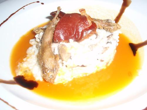 Zaragoza | Restaurante La Ciudad del Infinito | Risotto