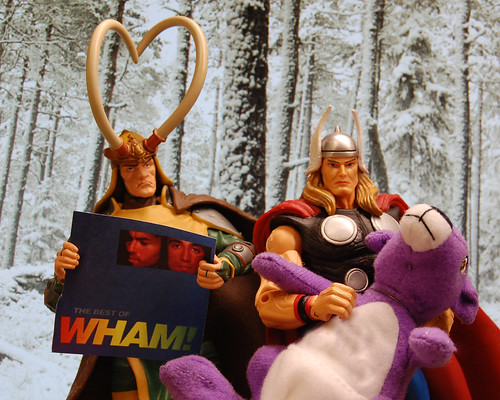 Loki and Thor get horrible Christmas gifts