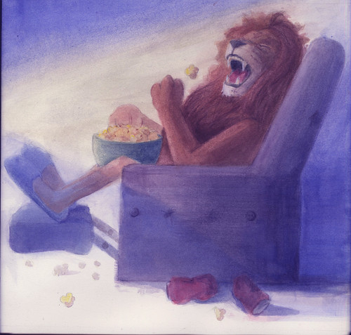 lion popcorn by china Jones1