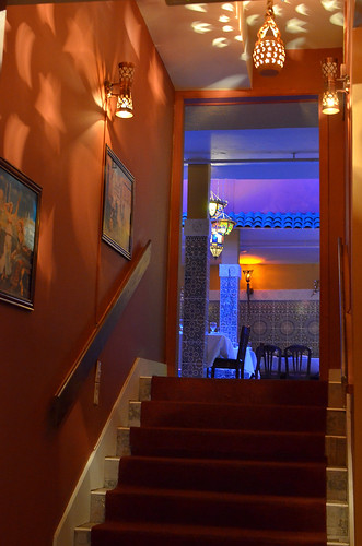 Stairwell to the Blue Light.