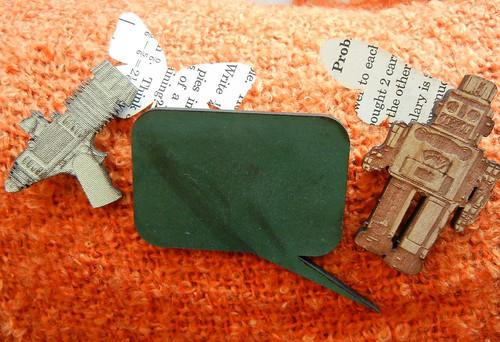 Papercraft pins
