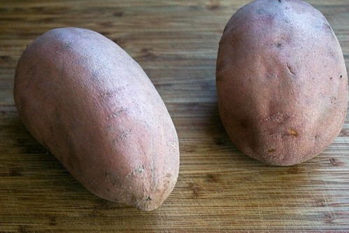 fat sweet potatoes