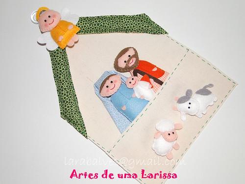 Presépio by Artes de uma Larissa