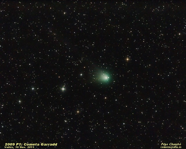 Comet Garradd in mid November