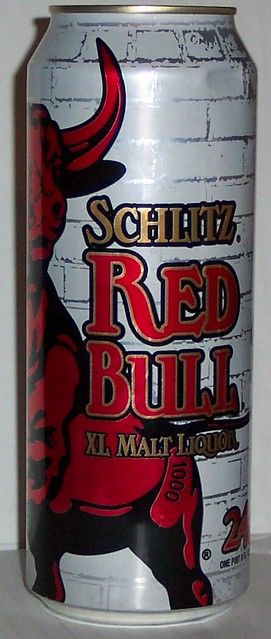 schlitz red bull 24 flickr photo sharing. Black Bedroom Furniture Sets. Home Design Ideas