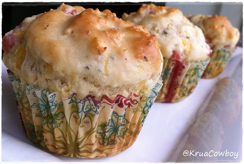 Ham Cheese Muffin Recipe