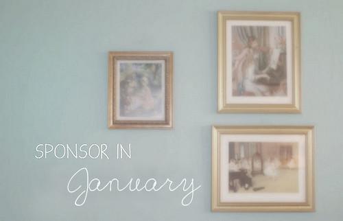 Sponsor in January