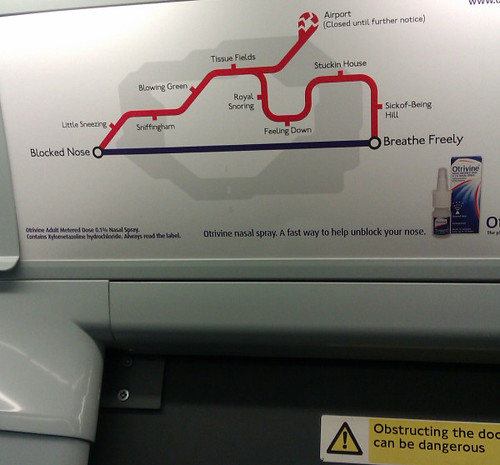 Tube Cold Ad by Annie Mole