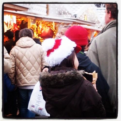 可愛的聖誕帽