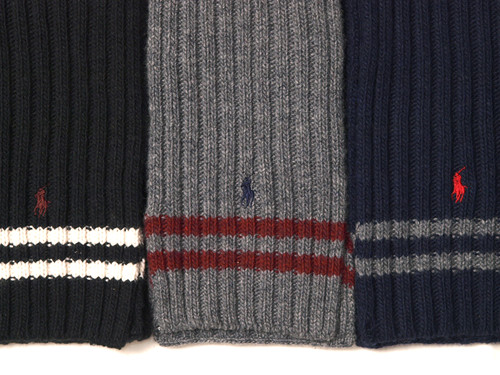 Ralph Lauren / Signature Ribbed Scarf