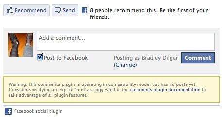 Facebook social error