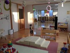 子育て支援センターにて(2011/12/24)