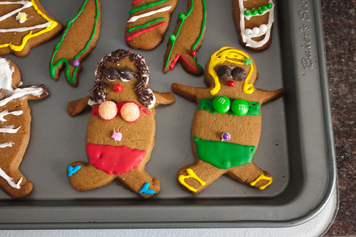 Gingerbread Beach Babes