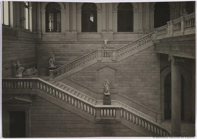 Escalera principal de la biblioteca nacional flickr - Escalera de biblioteca ...