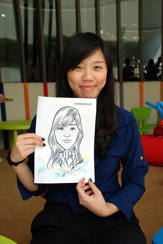 caricature live sketching for Forestque Residence (Wing Tai) - Day 1 - 17