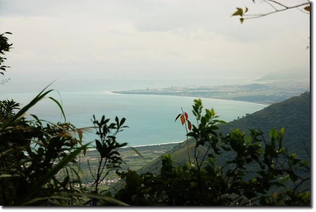 得卡倫步道俯瞰太平洋沿岸