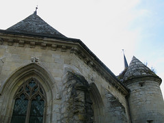 Agnicourt-et-Séchelles - église fortifiée (choeur face nord) 1