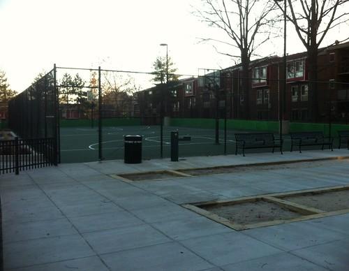 B ball court
