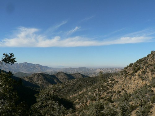 View North from Raspberry/Reyes Saddle