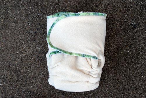 Guerilla Fluff: Kiwi Twist O2 One Size Snapless