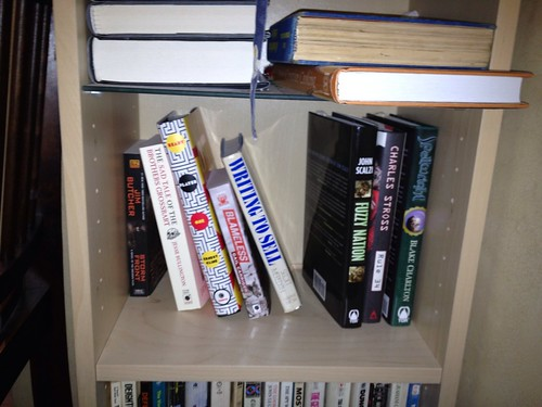To read shelf - after