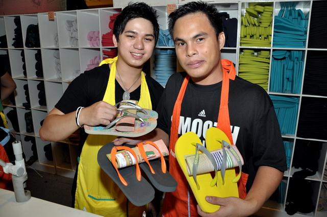 Make Your Own Havaianas SM City Cebu 2011