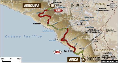 Etapa 11 Dakar 2012