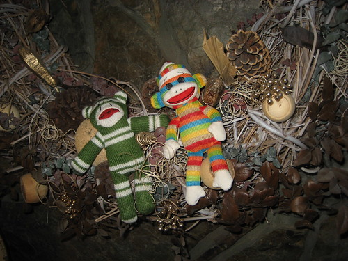 Sock Monkeys Redecorate