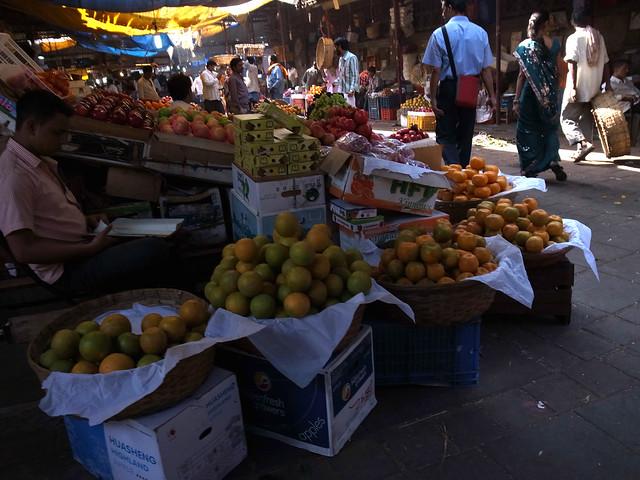Mahatma Jyotiba Phule Market a.k.a. Crawford Market, Mumbai, Dec 2011. GR155