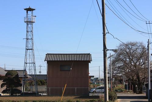 平方新田の火の見櫓(上尾市)