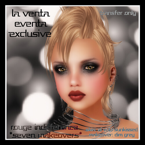La Venta Eventa Exclusive- Rouge Indifference by Mocksoup