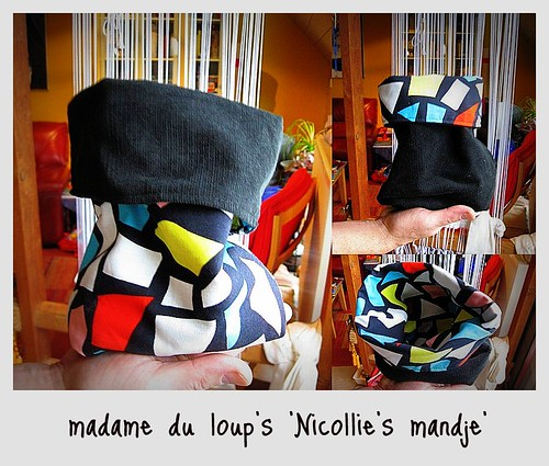 stiksel 006: Nicollie's mandje by madame du loup