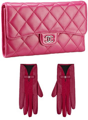 Pink Chanel Clutch