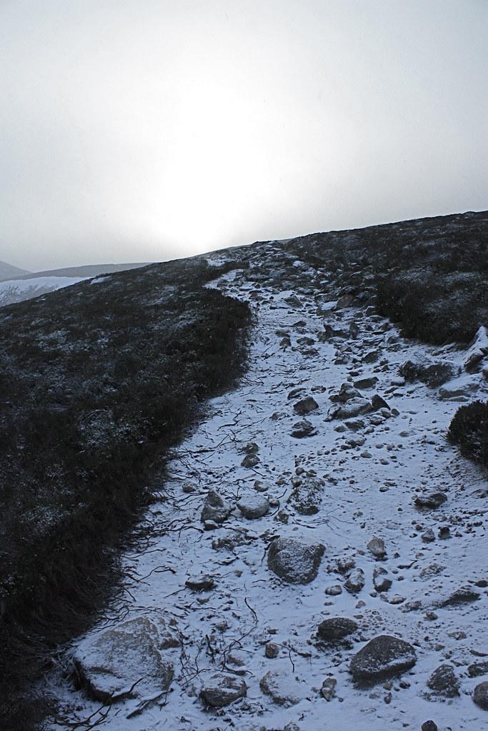 Climbing Mount Keen