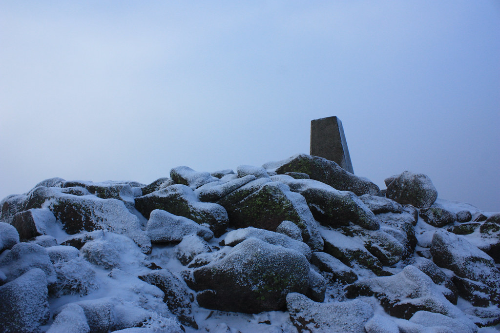 Mount Keen Summit Trig