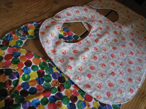 Hungry caterpillar and Cath Kidston bibs